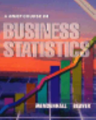 Brief Course in Business Statistics 9780534252908