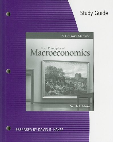 Brief Principles of Macroeconomics 9780538477062