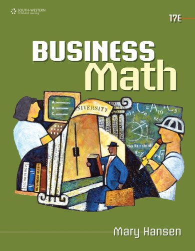 Business Math 9780538448734
