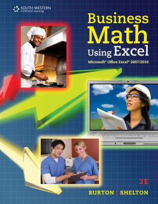 Business Math Using Excel [With CDROM] 9780538731195