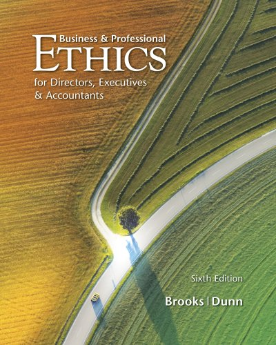 Business & Professional Ethics - 6th Edition