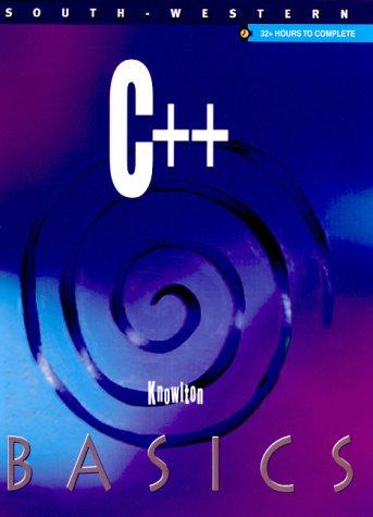 C++ Basics 9780538694933