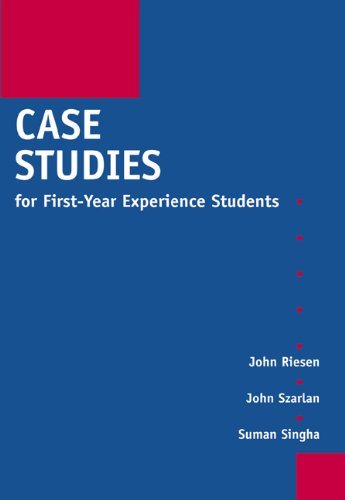 Case Studies for First-Year Experience Students 9780534262778