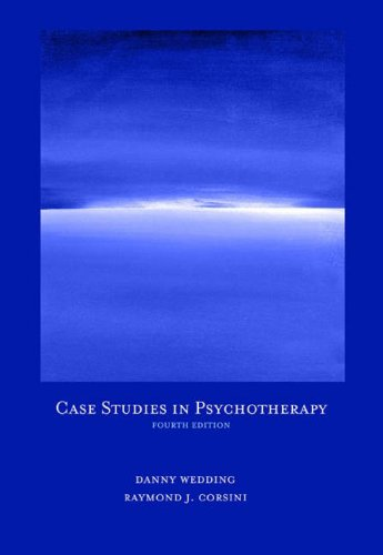 Case Studies in Psychotherapy 9780534638559