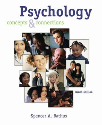 Cengage Advantage Books: Psychology: Concepts and Connections (with CD-ROM and Infotrac(r)) [With CDROM and Infotrac] 9780534633059