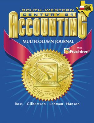 Century 21 Accounting for Texas Multicolumn Journal Approach 9780538437318