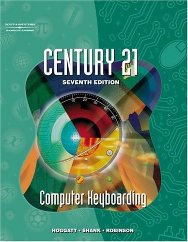 Century 21 Computer Keyboarding, Softcover/Spiral Student Text 9780538699204