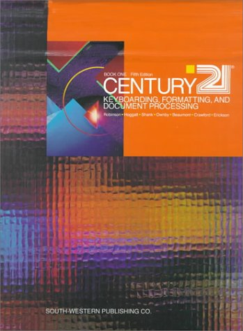 Century Twenty-One Keyboarding Formatting, and 9780538600743