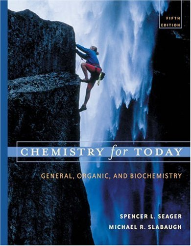 Chemistry for Today: General, Organic, and Biochemistry [With Infotrac] 9780534399696