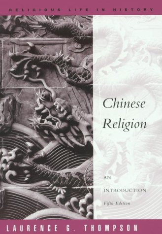 Chinese Religion: An Introduction 9780534255367