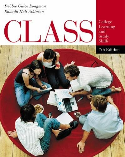 Class: College Learning and Study Skills 9780534621520