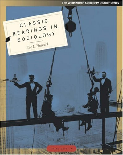 Classic Readings in Sociology 9780534609757