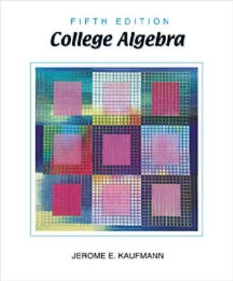 College Algebra 9780534386177