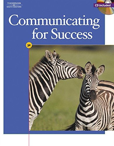 Communicating for Success [With CDROM] 9780538728669