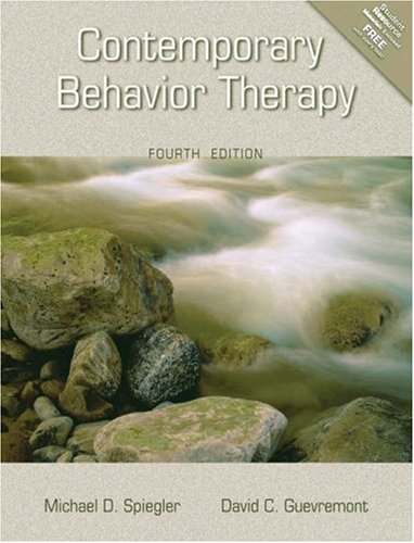 Contemporary Behavior Therapy 9780534546519