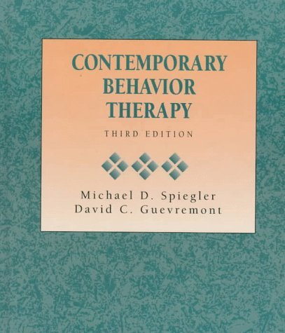 Contemporary Behavioral Therapy 9780534338930