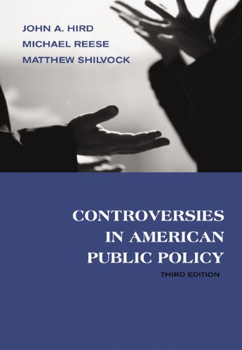 Controversies in American Public Policy [With Infotrac] 9780534618483