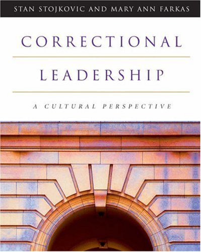Correctional Leadership: A Cultural Perspective 9780534574291