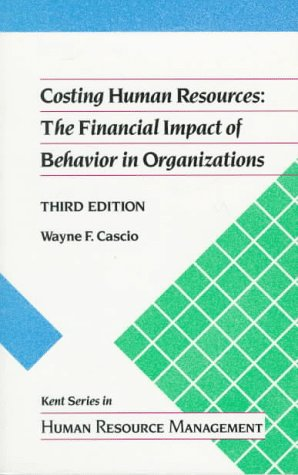 Costing Human Resources 9780534919382