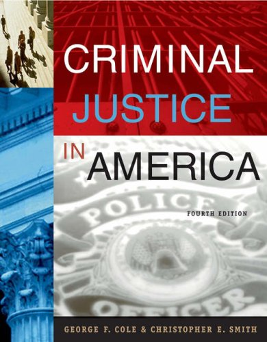 Criminal Justice in America [With CDROM] 9780534629649