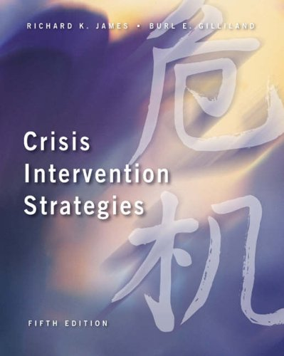 Crisis Intervention Strategies [With Infotrac] 9780534569662