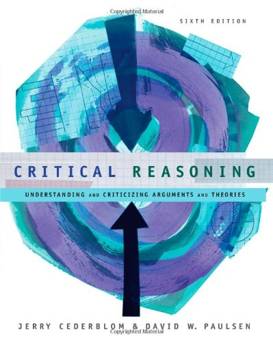 Critical Reasoning 9780534605070