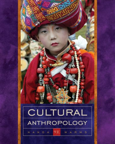 Cultural Anthropology 9780534617066