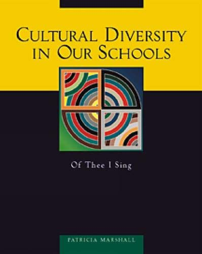 Cultural Diversity in Our Schools 9780534512477