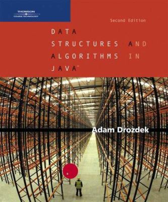 Data Structures and Algorithms in Java, Second Edition 9780534492526