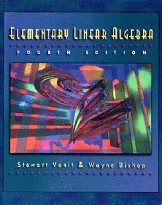 Elementary Linear Algebra 9780534951900