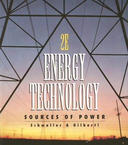 Energy Technology : Sources of Power