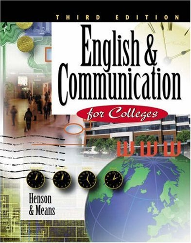 English & Communication for Colleges 9780538723039