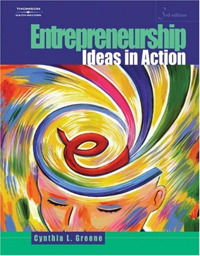 Entrepreneurship: Ideas in Action 9780538441223