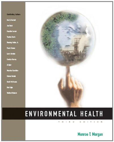 Environmental Health 9780534517175