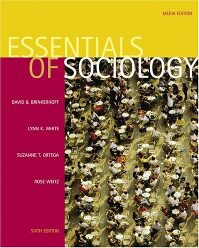 Essentials of Sociology [With Infotrac] 9780534626761