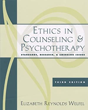 Ethics in Counseling and Psychotherapy: Standards, Research, and Emerging Issues 9780534628338