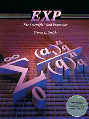Exp--The Scientific Word Processor, Version 2.1 9780534168605