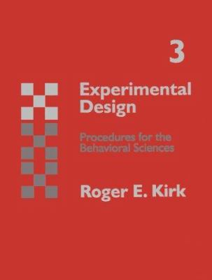 Experimental Design: Procedures for Behavioral Sciences 9780534250928