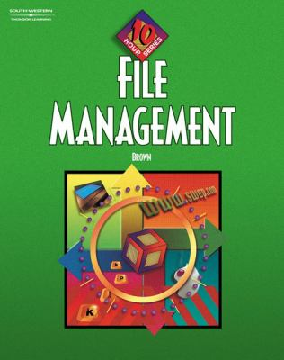 File Management, 10-Hour Series Text/CD Package 9780538432764