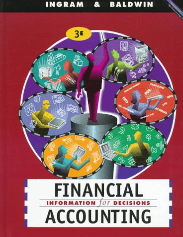 Financial Accounting: Information for Decisions 9780538870627