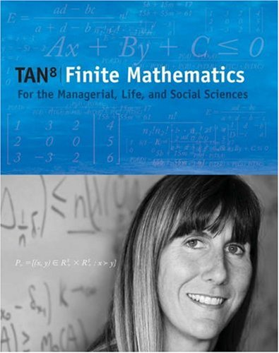 Finite Mathematics for the Managerial, Life, and Social Sciences (with CD-ROM and Ilrn Tutorial, Personal Tutor Printed Access Card) [With CDROM and A 9780534492144