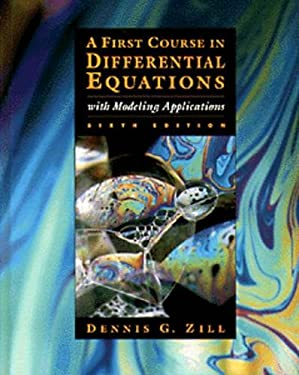 First Course in Differential Equations 9780534955748