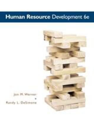 Human Resource Development 9780538480994