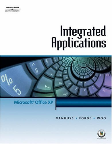 Integrated Applications for Office XP 9780538725484