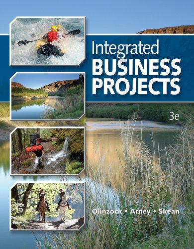 Integrated Business Projects 9780538731096