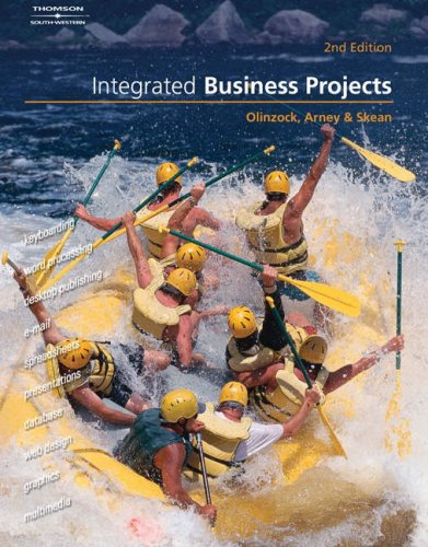 Integrated Business Projects [With CDROM] 9780538727617