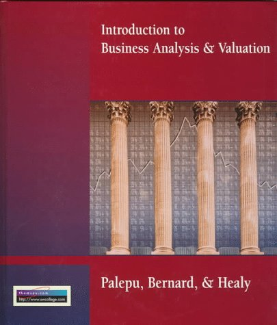 Introduction to Business Analysis and Valuation 9780538843317