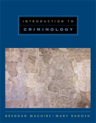 Introduction to Criminology 9780534537845