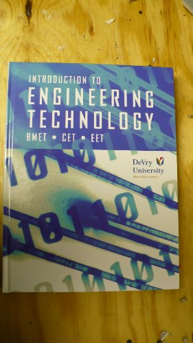 Introduction to Engineering Technology 9780536367181