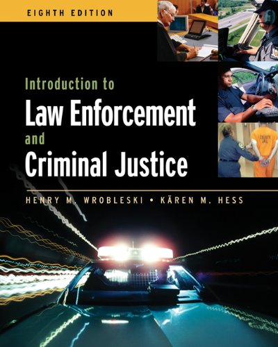 Introduction to Law Enforcement and Criminal Justice 9780534646684